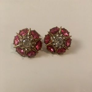 Forever 21 Pink and Good Diamond Earrings